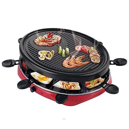 YGB BBQ Gril Uso doméstico 1300W Parrilla de Barbacoa eléctrica Teppanyaki Smokeless...