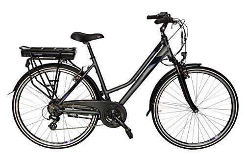 Telefunken E-Bike Damen Elektrofahrrad Alu 28 Zoll mit 21-Gang Shimano Altus Kettenschaltung, Pedelec Trekkingrad mit Hinterrad-Motor 250W 10Ah, 36V Akku, XT469 Expedition*
