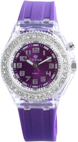 Ice Star Damen-Armbanduhr LED Collection Analog Quarz 251223800013