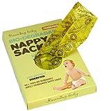 Beaming Baby - Sacchetti biodegradabili per pannolini profumati, 5 confezioni da 60 (300 sacchetti)