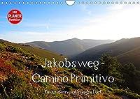 Jakobsweg - Camino Primitivo (Wandkalender 2022 DIN A4 quer): Pilgerweg von Oviedo nach Santiago de Compostela (Geburtstagskalender, 14 Seiten )