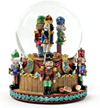 Christmas Nutcracker Soldiers Snow Globe by The San Francisco Music Box Company