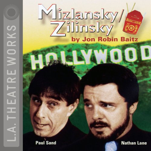 Mizlansky/Zilinsky audiobook cover art