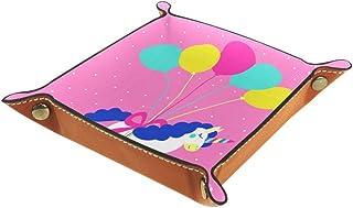 Desheze Licorne Mignonne (10) Boîte de Rangement Pliable Stockage Boîte Maquillage Bijoux Jouets Papeterie Organisateur Pe...