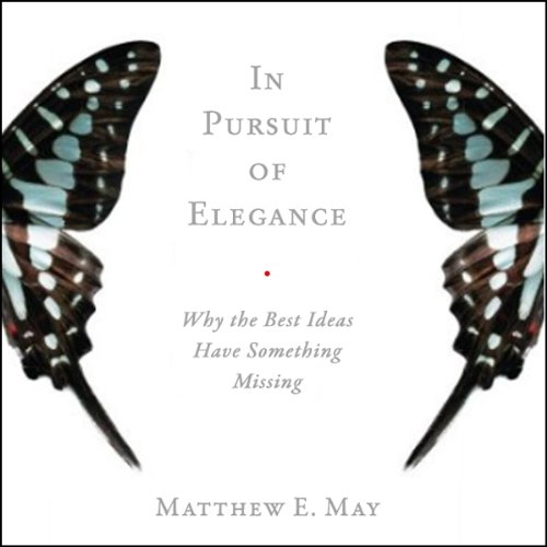 In Pursuit of Elegance audiobook cover art