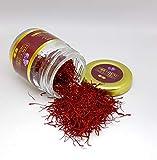 Zafferano Rosso Biologico Premium - Grado 1 - 100% Zafferano Autentico Rosso Puro (1.00)