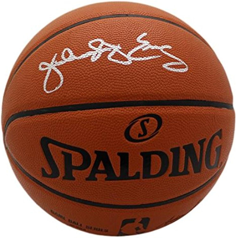 Julius Erving Autographed Philadelphia 76ers Replica Basketball JSA
