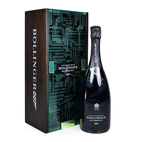 Bollinger 007 Limited Edition Millesime Champagne 75cl Presentato nella splendida custodia per presentazioni Keepsake -Idee per compleanno, anniversario, affari e aziende