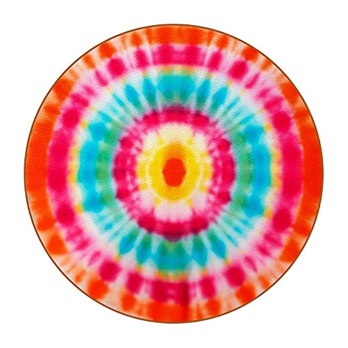Blur - Posavasos de tela con colores brillantes, resistente al calor, reutilizable con base de poliuretano para bebidas, juego de regalo y decoración de apartamentos de cocina y bar