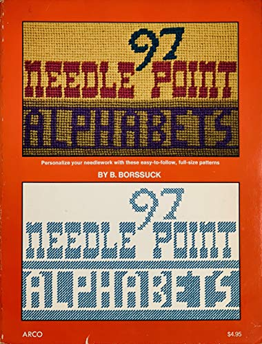 97 Needlepoint Alphabets