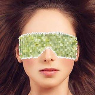 Leosense Original Premium Heavy Green Jade Facial Eyes Sleeping Mask, 100% Natural Authentic Healing Cold Therapy Jade Sto...