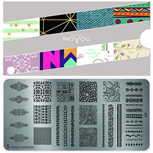 MoYou's XL Collection de plaques ethniques 5