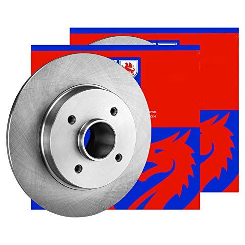 Preisvergleich Produktbild 2X Jp Group Bremsscheiben Ø283Mm Set Hinten