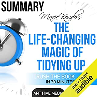 Marie Kondo's The Life Changing Magic of Tidying Up Summary cover art