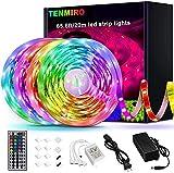 Tenmiro 65.6ft Led Strip Lights, Ultra Long RGB 5050...