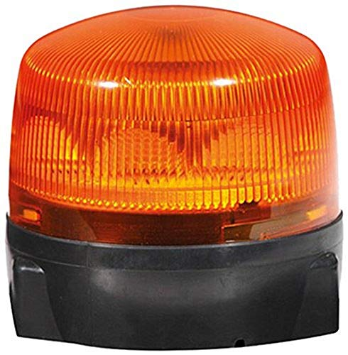 HELLA 2RL 010 979-001 Rundumkennleuchte - RotaLED - LED - 12V/24V - Lichtscheibenfarbe: gelb - geschraubt - Kabel: 200mm - Menge: 1