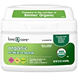Love & Care Organic Infant Formula Milk-based Powder With Iron, 23.2...
