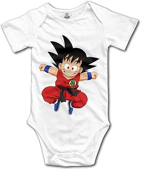 Integrity merchant Cute Anime Dragon Ball Sun Wukong Newborn Baby Siamese Clothes
