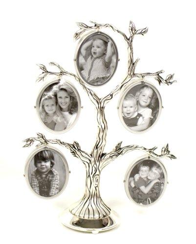 Le cadre photos de famille en forme d'arbre généalogique
