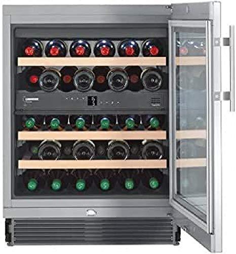 Liebherr WTes 1672 Vinidor Libera installazione Acciaio inossidabile 34bottiglia/bottiglie A cantina vino