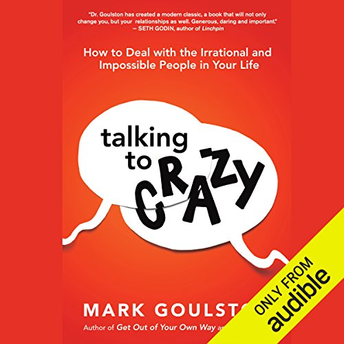 Talking to Crazy audiobook cover art