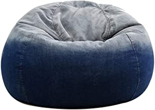 RKRCXH Living Room Beanbag Home Back Bean Bag Waterproof Large Storage Removable Comfort Sofa Cover Lazy Stuffed Oxford Chair Cover