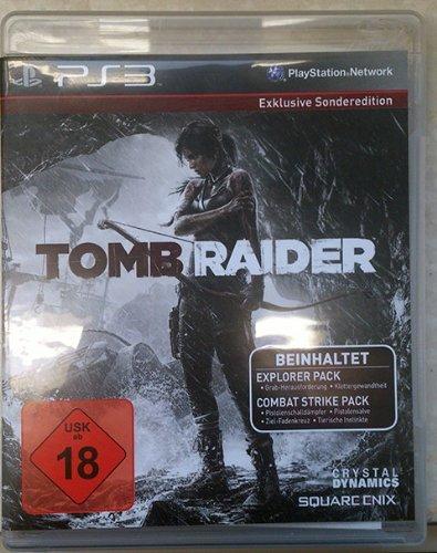 Tomb Raider - Exklusive Sonderedition - PS3 (USK18)