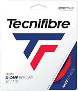 Tecnifibre X-One Biphase Tennis String Red (16G Red)