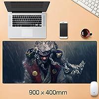 ナルトアニメゲーミングマウスパッド、天然ゴムプラス超滑らかな表面ゲームマウスパッド - 耐水性&滑り止めマウスマット、オフィス-A1_300 * 600 * 3mm