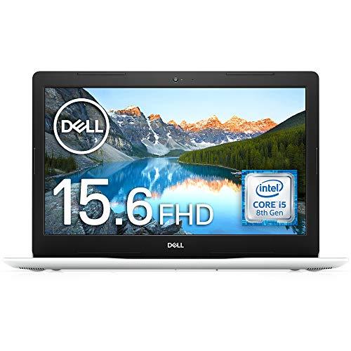 Dell ノートパソコン Inspiron 15 3580 Core i5 ホワイト 20Q13W/Win10/15.6FHD/4GB/16GB Optane+1TB HDD