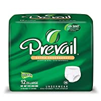 Prevail Extra Protective Underwear - XX-Large 48/cs by Prevail