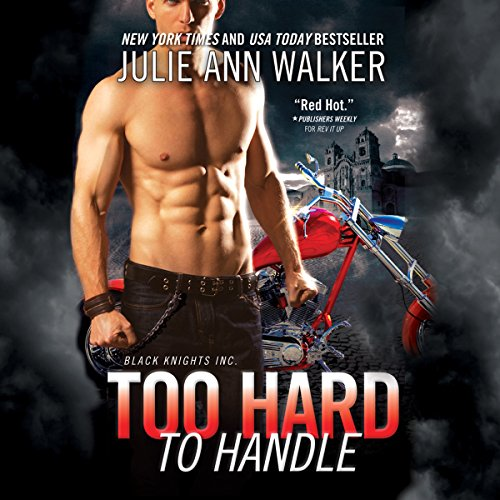 Too Hard to Handle audiobook cover art