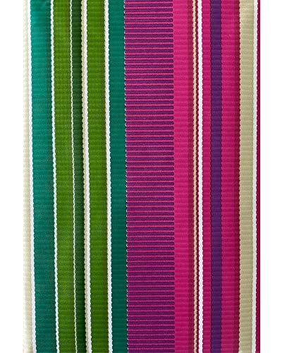 Newbridge Fiesta Stripe Southwestern Party Print Mantel de franela de vinilo, brillante, audaz y festivo, impermeable, para patio, barbacoa, picnic, mantel de cocina, 150 x 200 cm, ovalado