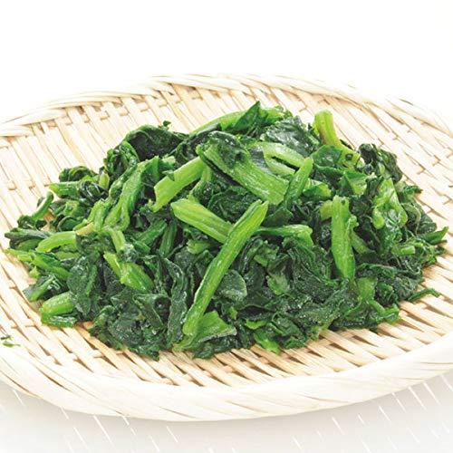 ニッスイ)宮崎産ほうれん草(自然解凍 生食可)IQF 500g