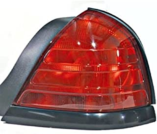 Go-Parts - OE Replacement for 1999 - 2011 Ford Crown Victoria Rear Tail Light Lamp Assembly / Lens / Cover - Right (Passenger) Side - (Base Model + LX + Police Interceptor + S + Special Edition) 8W7Z
