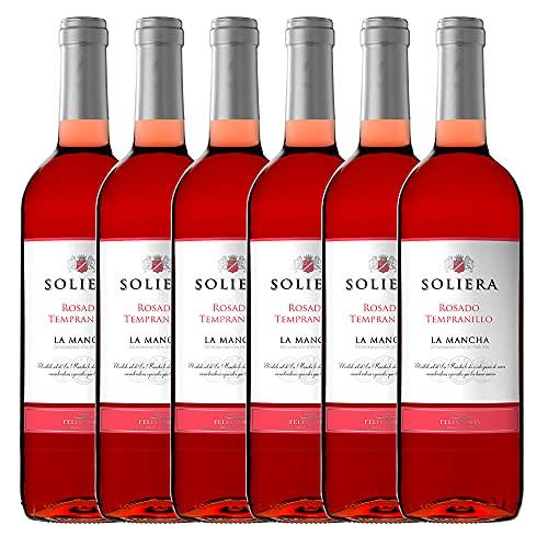 Soliera Rosado - 6 botellas x 750ml - Total:4500ml
