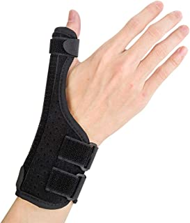 Thumb Spica Splint, Suitable for Arthritis, Tendonitis, Carpal Tunnel Pain Relief. Wrist, Finger and Thumb Stabilizer, Lightweight and Breathable, Adjustable Size