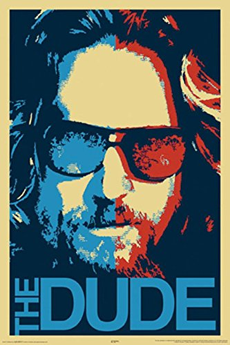 Close Up The Big Lebowski Poster The Dude (61cm x 91,5cm)