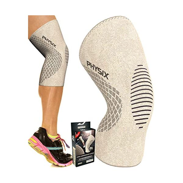 Physix Gear Knee Support Brace – Premium Recovery & Compression Sleeve...