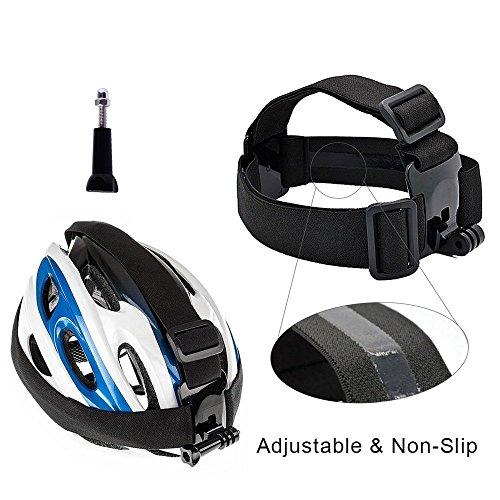 GREHOME Basic Outdoor Sports Accessories Kit for AKASO EK7000 GoPro Hero 5 GoPro Hero Black Silver GoPro Session 5 SJ Cam YI 4K Action Camera