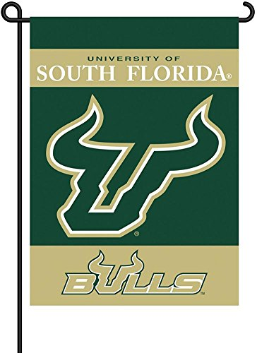 NCAA South Florida Bulls 2-Sided Garden Flag