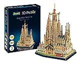 Revell- basílica de la Sagrada Familia, Altura 33,0cm 3D Puzzle, Multicolor (00206)