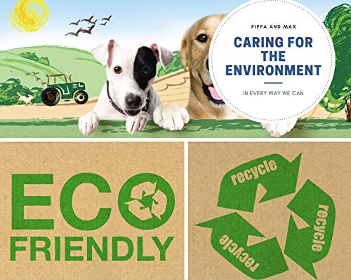 Pippa & Max Dog Poo Bags Biodegradable (300) - Extra Strong Eco Doggy Walking Poop Bags 5