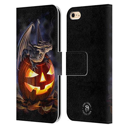 Head Case Designs Licenza Ufficiale Anne Stokes Dolcetto O Scherzetto Draghi 5 Cover in Pelle a Portafoglio Compatibile con Apple iPhone 6 / iPhone 6s