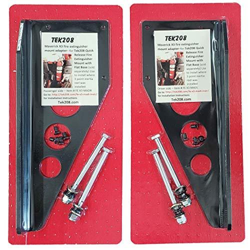TEK208 Can Am Maverick X3 Fire Extinguisher Mount, (Driver Side)