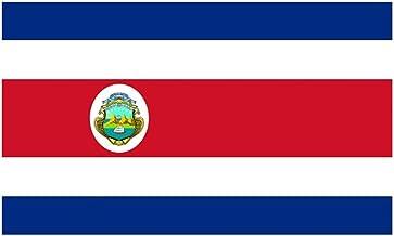 VIVIANE Bandera De Costa Rica Bandera De Poliéster Banner For Decoración del Hogar De Vacaciones, Bandera De Costa Rica, Tamaño 8, Bandera Mundial (Size : 30x20cm)
