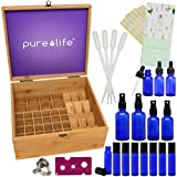Essential Oil Storage Box and Complete Blending Kit - includes...