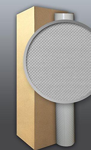 Behang glasvezel look EDEM 330-60 vliesbehang structuur behang overschilderbaar reliëfbehang wit | 4 rol 106 m2
