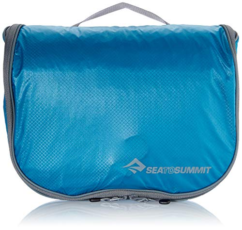 Sea to Summit Travelling Light Hanging Toiletry Bag, Pacific Blue, Large