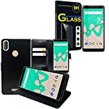 ANNART Folio Book Style Case for Wiko View Max 5.99 Inches